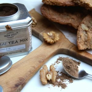 Chai-walnoot cookies