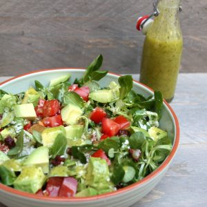 Salade van bloemkool couscous met chorizo EEFSFOOD