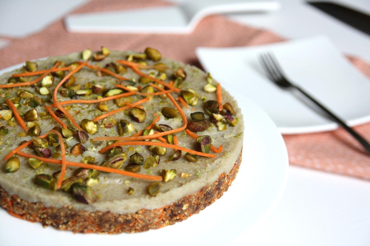 Vegan carrot cake EEFSFOOD